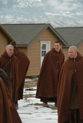 Monastic hermitages of Carmelite Monks in Wyoming, USA