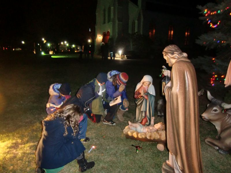 Manger Tebow Holy Cross Rumson II
