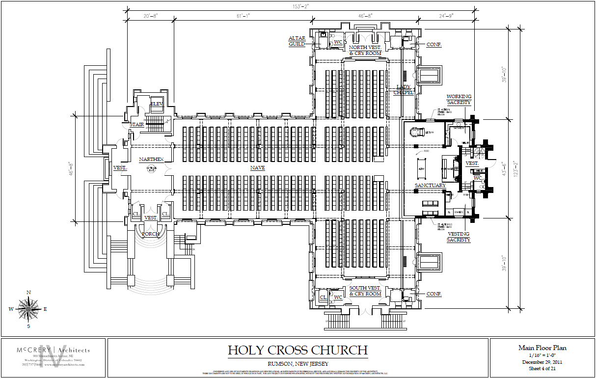 Additional Schematic Diagrams For Renovated Church Diary Of A Parish Priest