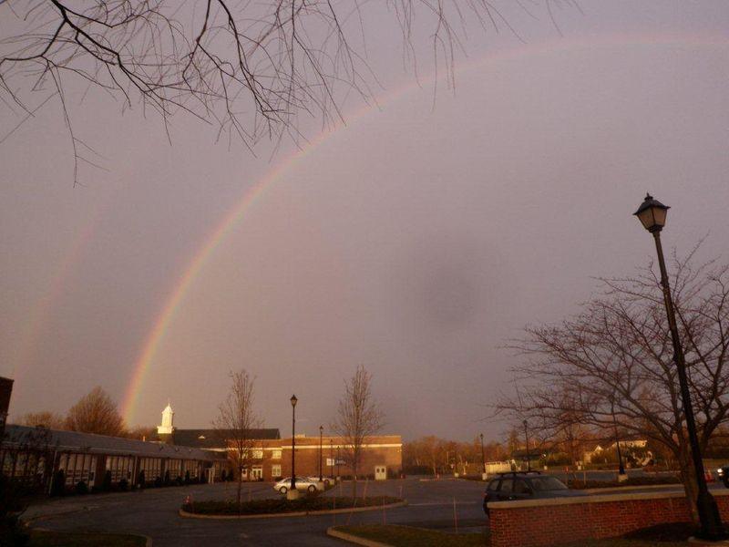 Rainbow Over Holy Cross Rumson