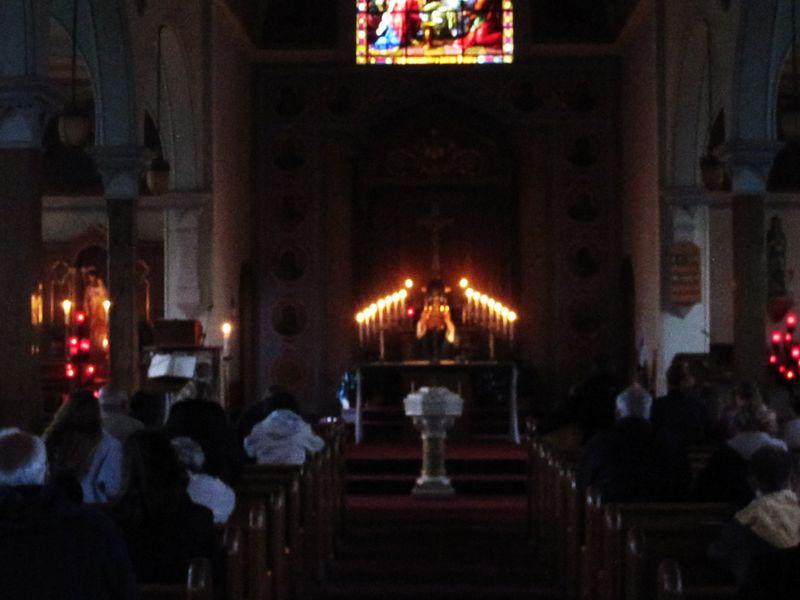 Candlelight Mass 5 PM