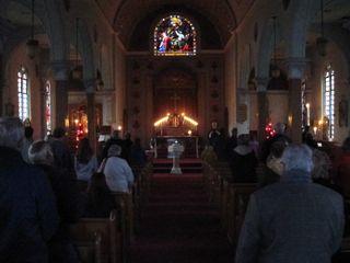 Holy Cross Church 5 PM Mass