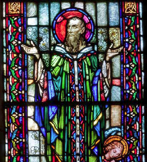 St Patrick Stained Glass Window