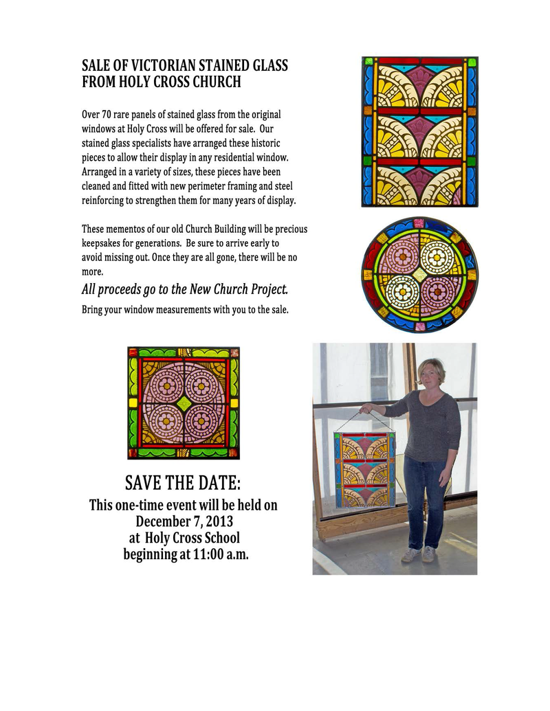 FW_ Stained Glass sale