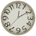 Abstract_clock_against_white