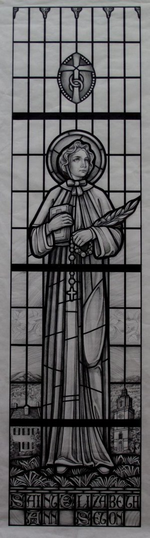 St. Elizabeth Seton revision2 detail