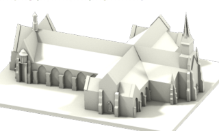 3 D model of Holy Cross Church