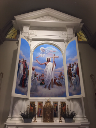 Installed Reredos