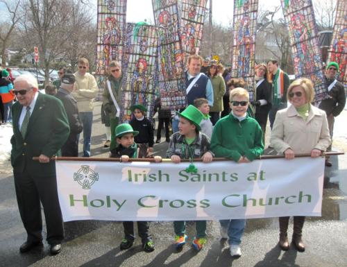 Holy Cross Church St. Patrick's Day