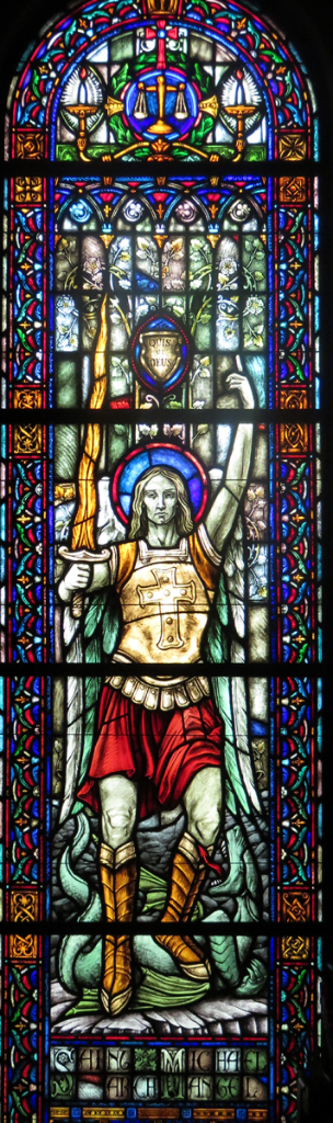 St Michael The Archangel Window at Holy Cross Rumson