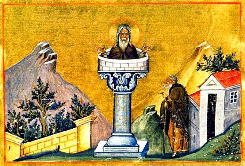 http://arthistorycq.tumblr.com/post/111948141492/junkstatus-simeon-stylites-was-a-syrian-christian