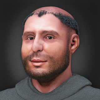 https://commons.wikimedia.org/wiki/Category:Saint_Anthony_of_Padua#/media/File:St._Anthony_-_facial_reconstruction_-_for_mobile_and_newspaper.jpg