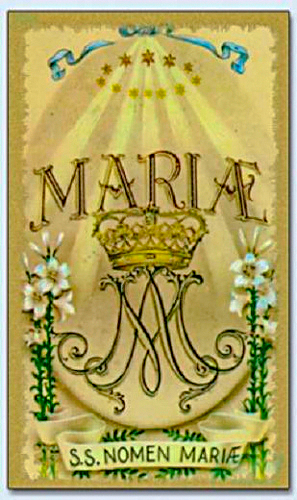 The Holy Name of Mary (Diary of a Parish Priest)
