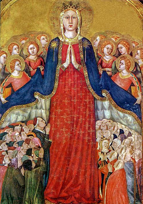 Lippo_memmi _madonna_della_misericordia _Chapel_of_the_Corporal _Duomo _Orvieto
