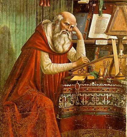 Saint-Jerome-in-His-Study-Domenico-Ghirlandaio