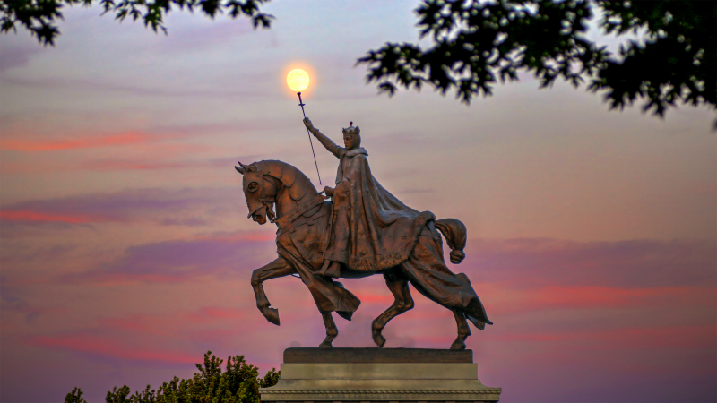 Image-of-St.-Louis-statue